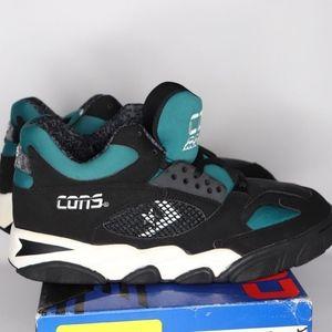 3f67b0e8da44c Vintage New Converse Court Marshal Mid Shoes Mens NWT